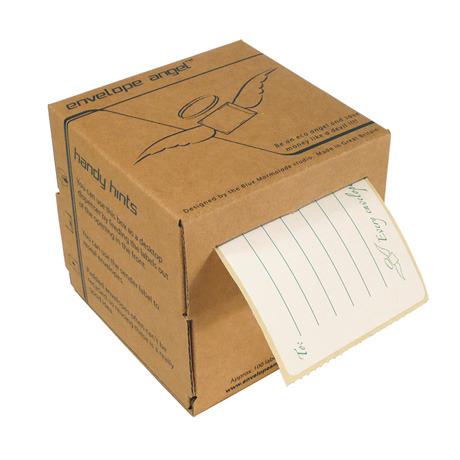 reuse envelope labels envelope angel